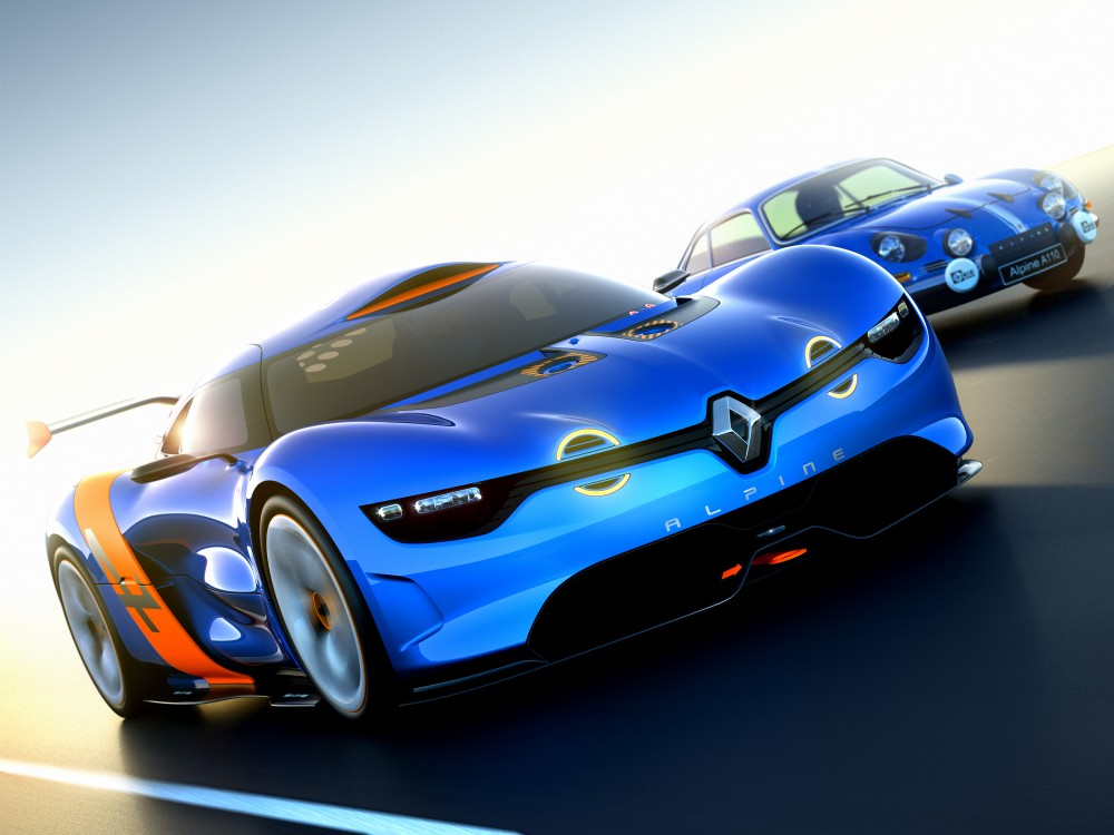 The Renault Alpine A110-50 and the Berlinette