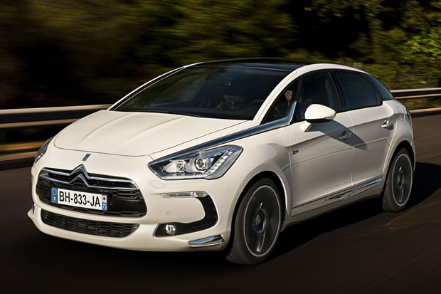 The Citroen DS5 hybrid
