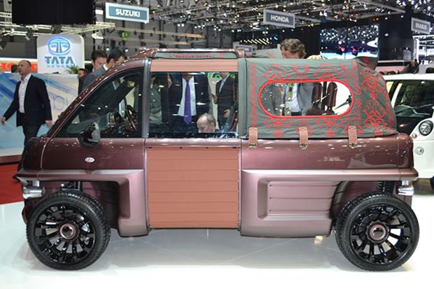 The Mia Rox at the Geneva Motorshow