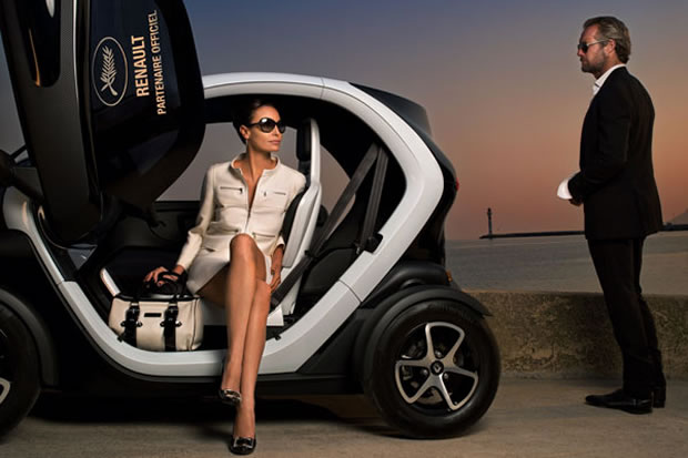 Renault Twizy at the Cannes festival