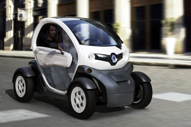 the renault twizy the affordable electric car. Black Bedroom Furniture Sets. Home Design Ideas