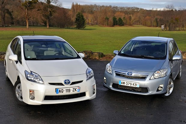 Toyota Prius and Auris