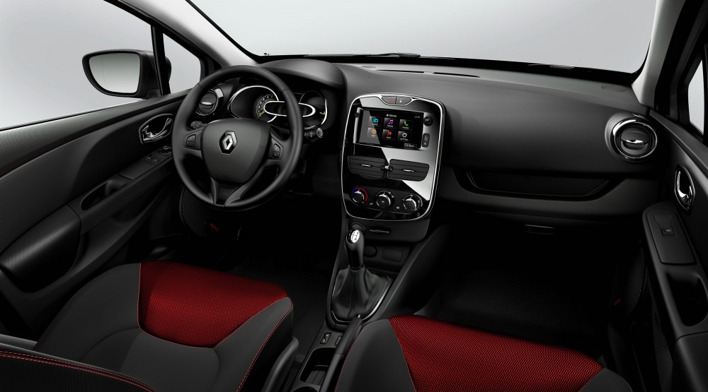 The new clio will feature the r link on board infotainment for Interieur sport musique