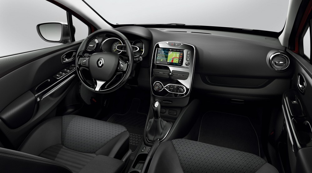 Another finishing for the interior of the renault clio for Interieur clio 4