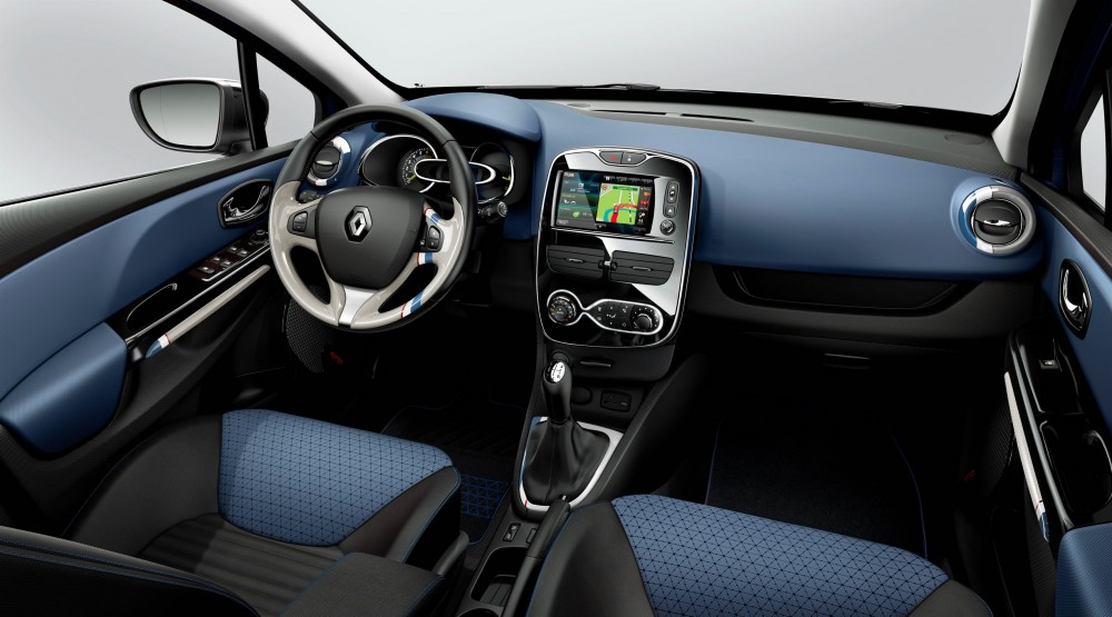 The interior of the new renault clio 4 clean car journal for Interieur clio 4