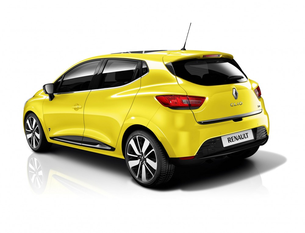 The rear lights of the new Clio are integrated into the overall design lines
