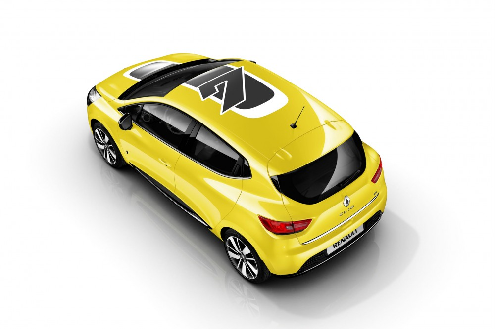 The new Clio with its sporty look
