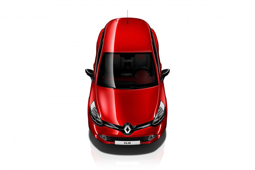 The new Clio 4 seen from above