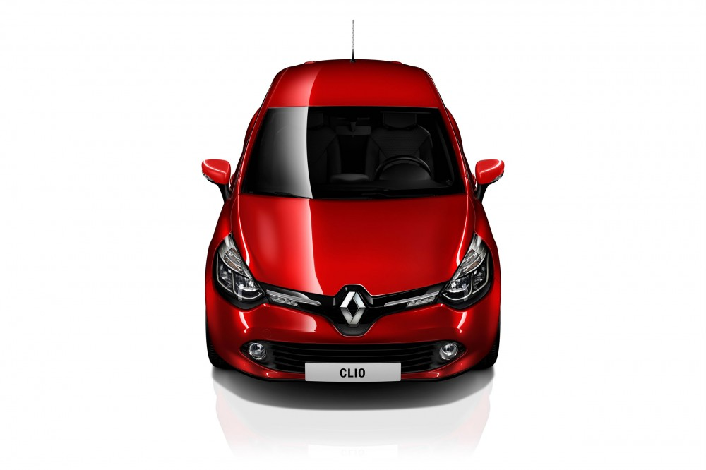 The front view of the new Clio