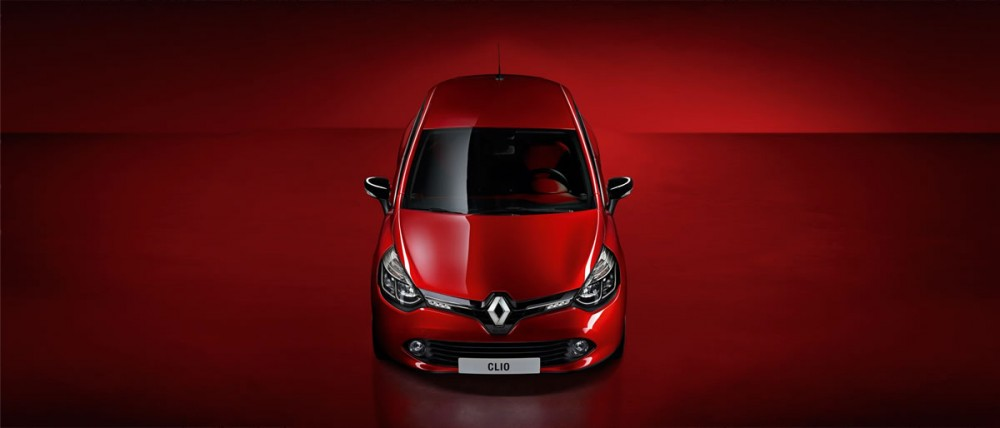 The new Renault Clio from above
