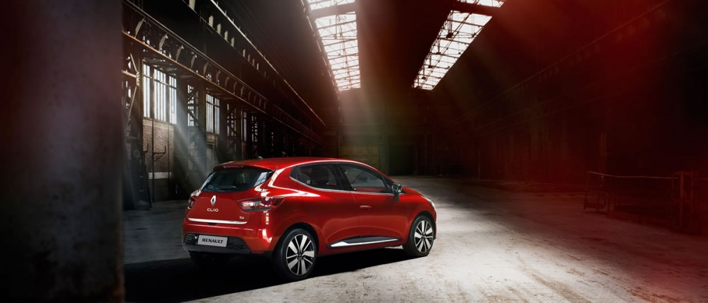 The rear lines of the new Renault Clio