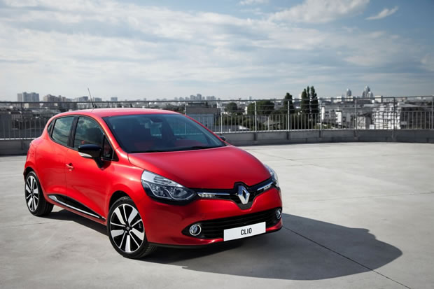 Picture of the new Renault Clio 4