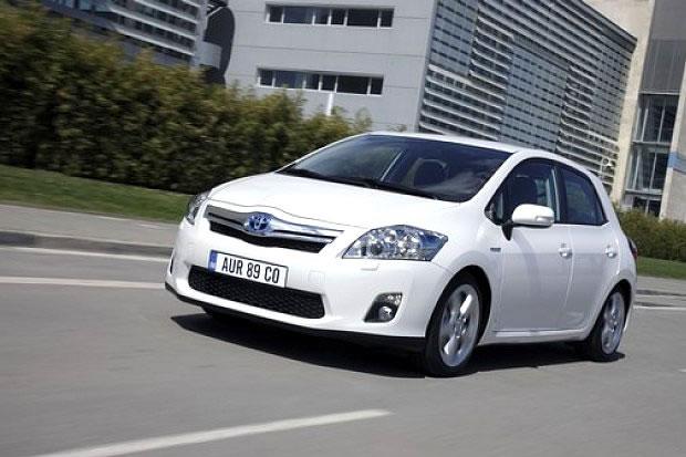 The Toyota Auris hybrid
