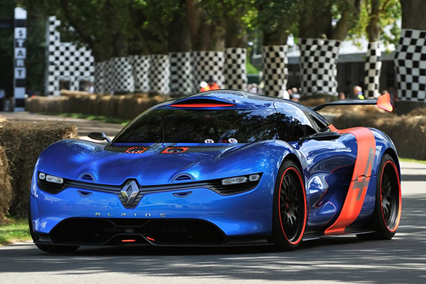 the new Renault Alpine