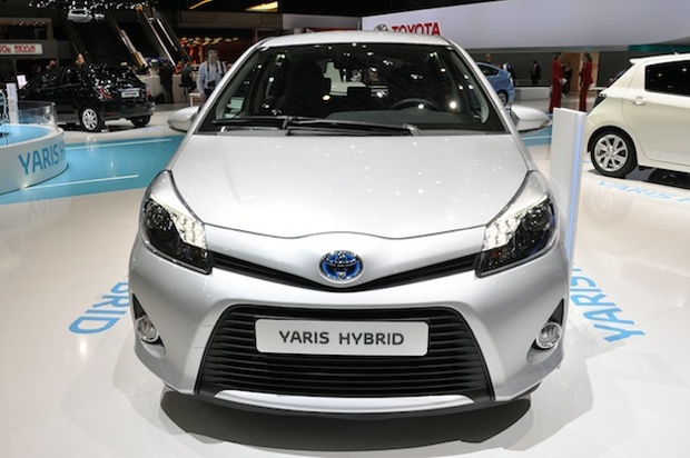 Toyota Yaris hybrid France