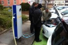 Recharging the Renault ZOE