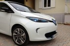 Front of the Renault ZOE.