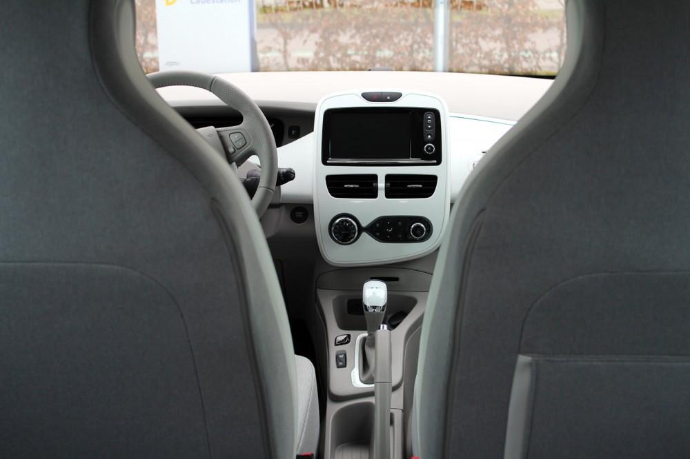 The Renault ZOE's ergonomic seats.