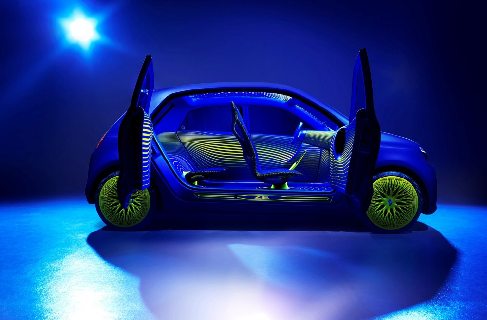 The Twin'Z concept with doors opened