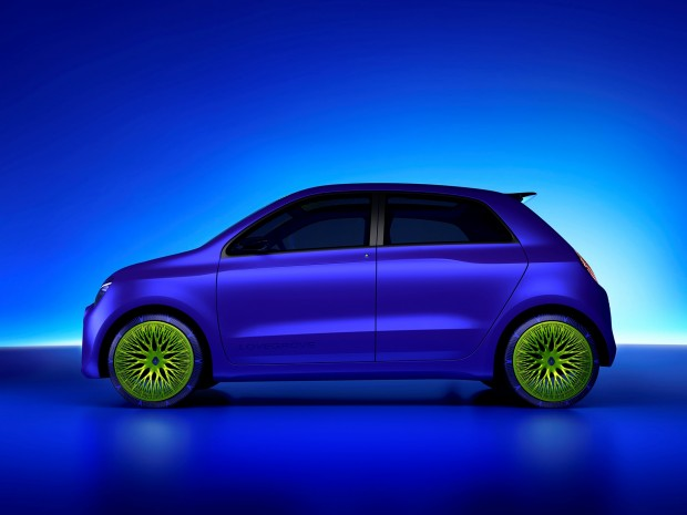 The Twin'Z concept prefigures a future electric Twingo