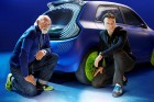 The designers of Renault's Twin'Z concept