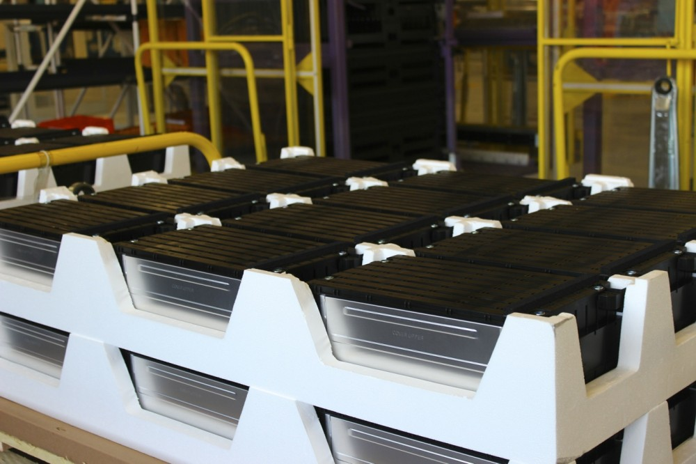 The stock of battery modules for the Renault ZOE (this is quite expensive!)